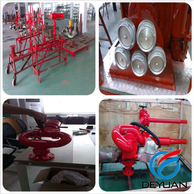 Boat Marine Fire Suppression Systems With Adjustment Electric Motor