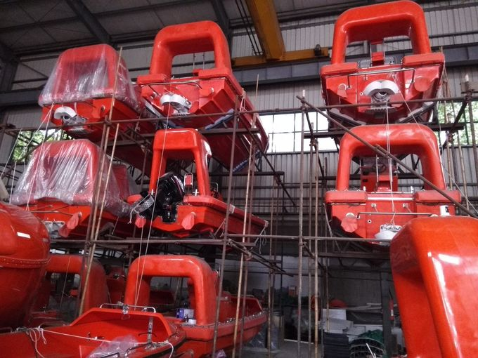 SOLAS 6 Persons Fiberglass Rescue Boats GRP Lifeboats with Class Approval Certificate