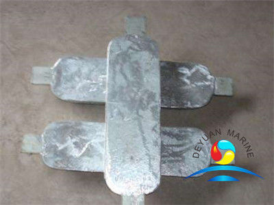 Rectangle Type Zinc Anodefor Sea Water Cooling System  Marine Outfitting Equipment