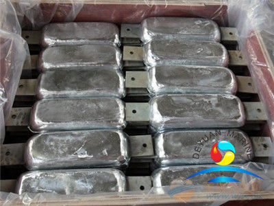 Bolt-on Type Zinc Anode for Hull Outfitting Equipment for Hull